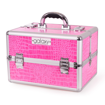 Makeup, Cosmetics and Tool Case GALAXY TC-3154HPC Pink