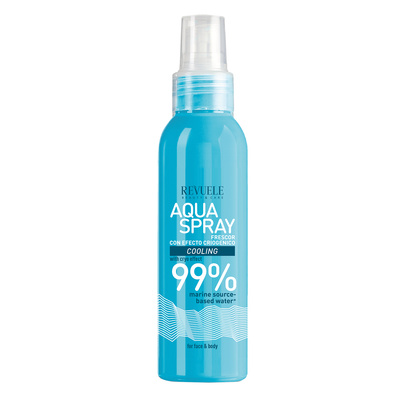 Aqua Spray for Face and Body with Cryo Effect REVUELE Cooling 200ml