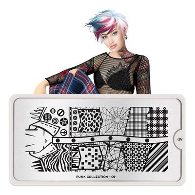 Stamping Nail Art Image Plate MOYOU Punk 09