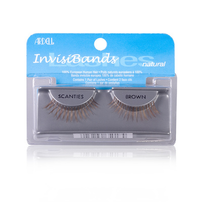 Strip Eyelashes ARDELL InvisiBand Scanties brown