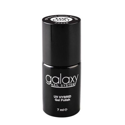 Mat završni sloj za trajni lak UV/LED GALAXY Top Coat No Wipe 7ml