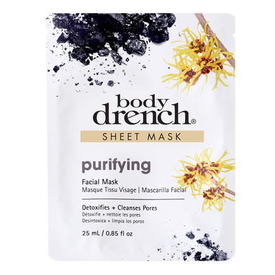 Sheet Facial Mask BODY DRENCH Purifing 25ml