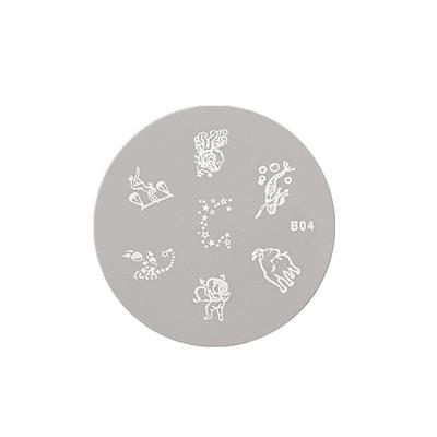 Šablon disk za pečate ASN B04