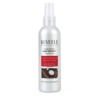 Hair Spray Heat Protect REVUELE 200ml