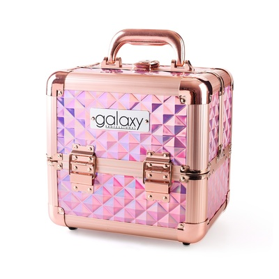 Makeup, Cosmetics and Tool Case GALAXY Holographic 1271 H