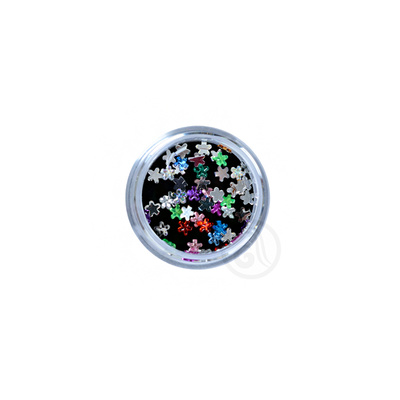 Zircons For Nail Art Flowers Mix CIRK