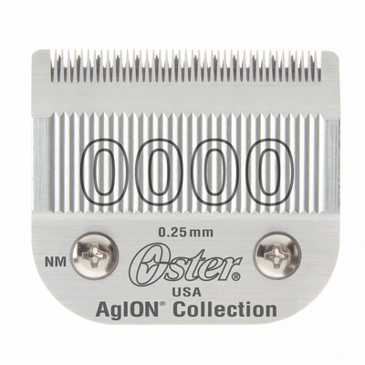 Spare Blade For Hair Clippers Oster Size 0000 - 0.25 mm