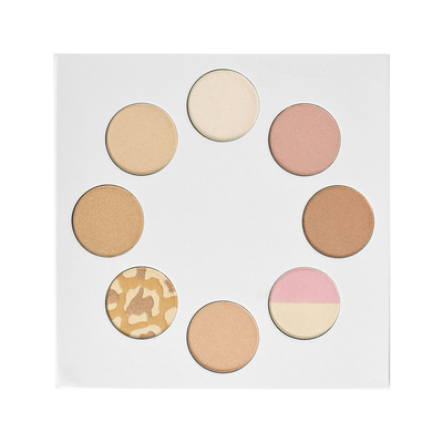 Highlighters Palette I HEART REVOLUTION Wardrobe 18.96g