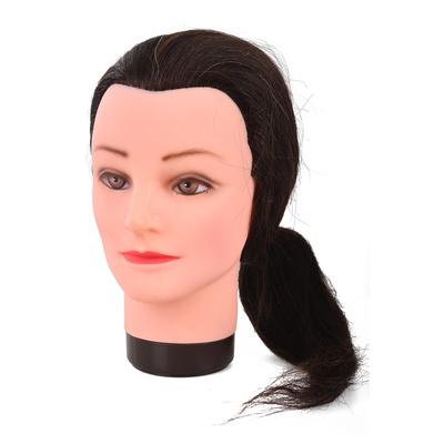 Trening lutka sa prirodnom kosom COMAIR Smeđa 50cm