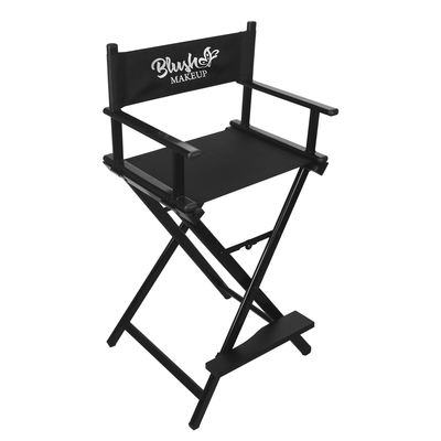 Makeup Artist Directors Chair BLUSH BL-MC01 Black