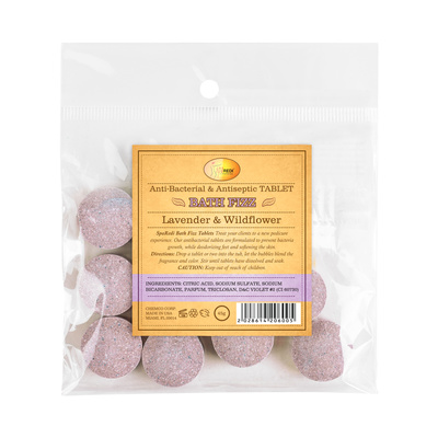Tablets for SPA Pedicure Treatments Lavander 45g