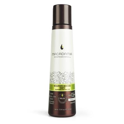 Moisture Shampoo Sulfate Free MACADAMIA Professional Weightless 100ml