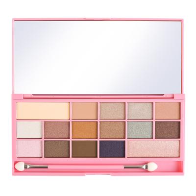 Eyeshadow Palette I HEART REVOLUTION Chocolate Pink Fizz 22g