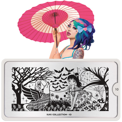 Stamping Nail Art Image Plate MOYOU Suki 10