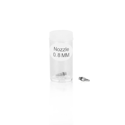 Nozzle for Air Brush Gun 0.8mm Threaded
