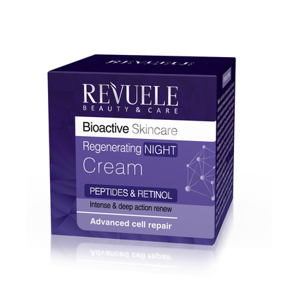 Regenerating Night Cream REVUELE Bioactive Peptides&Retinol Complex 50ml