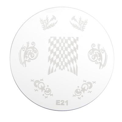 Stamping Disc Stencil PMEO1 E21