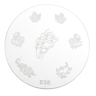 Stamping Disc Stencil PMEO1 E35