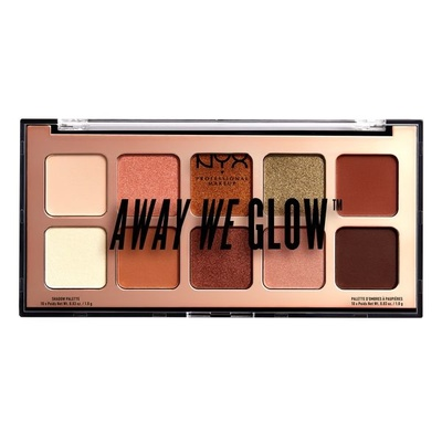 Paleta senki za oči NYX Professional Makeup Away We Glow Hooked on Glow AWGSP02 10g