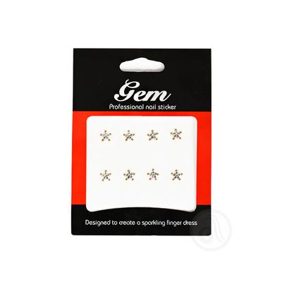 Nalepnice za nokte zvezdice ENS Srebrno/Zlatne