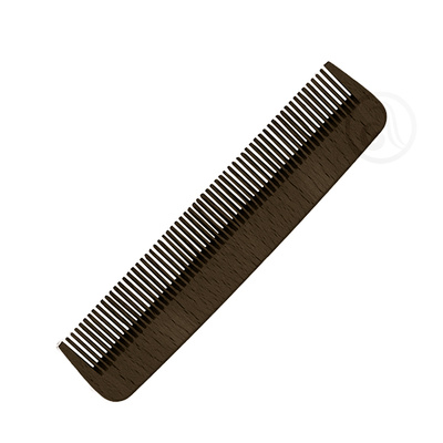 Beard and Moustache Comb 3ME Gentlemen's Barber Club