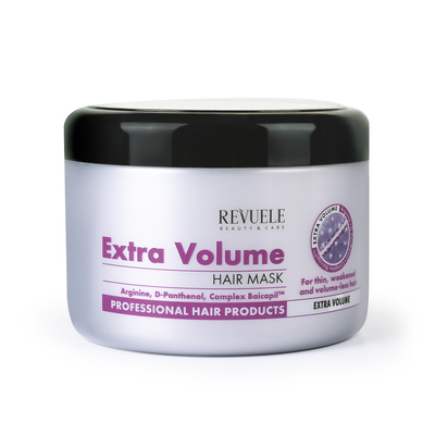 Extra Volume Hair Mask REVUELE 500ml