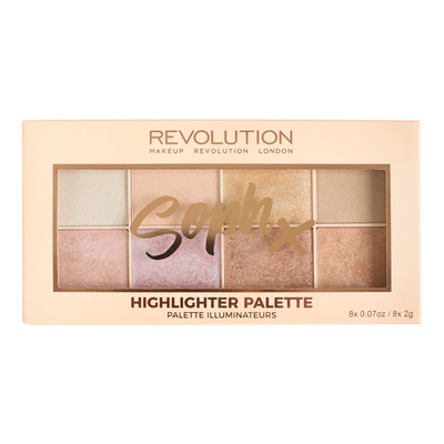 Highlighters Palette MAKEUP REVOLUTION Soph X 16g