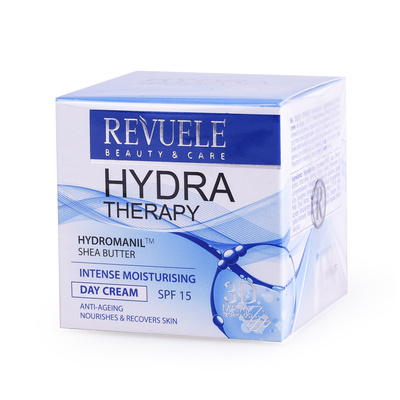 Intense Moisturising Day Cream REVUELE Hydra Therapy 50ml