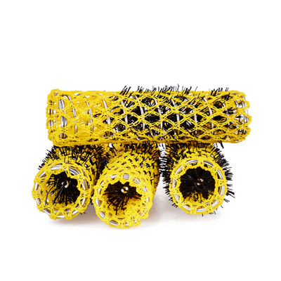 Wire Curlers KIEPE Yellow 17mm 12pcs
