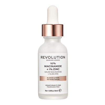 Serum za problematičnu kožu REVOLUTION SKINCARE 10% Niacinamide & 1% Zinc for Blemishes 30ml