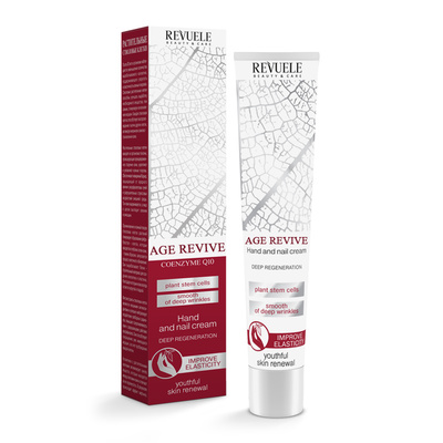 Hand and Nail Cream with Coenzyme Q10 REVUELE Age Revive 50ml