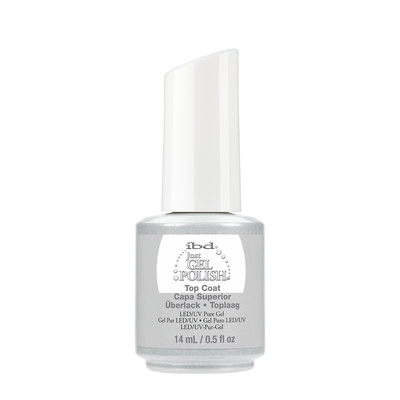 Završni sjaj za trajni lak UV/LED IBD Just Gel Polish Top Coat 14ml