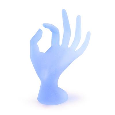 Staklena ruka za nakit GH4 Plava