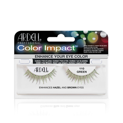 Color Strip Lashes ARDELL 110 green