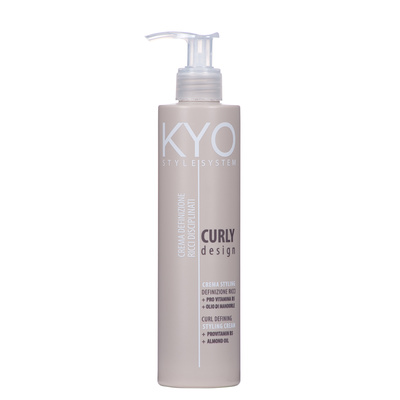 Cream for Styling Curly Hair KYO Curly Design 250ml