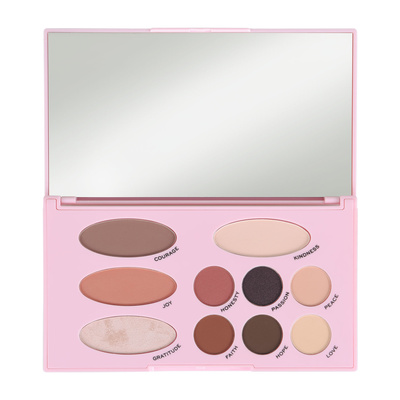 Paleta za šminkanje REVOLUTION MAKEUP The Emily Edit - The Needs 13.2g