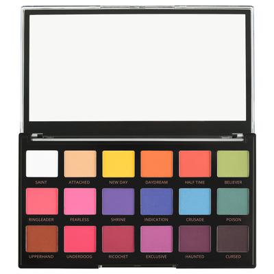 Eyeshadow Palette REVOLUTION PRO Regeneration Trends Mischief Mattes 14.4g