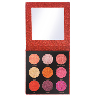 Paleta presovanih glitera REVOLUTION MAKEUP Hot Pursuit 10.8g