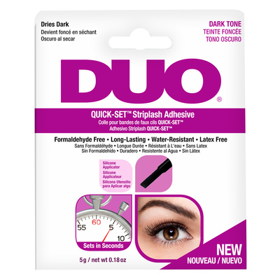 Waterproof Striplash Adhesive DUO Quick-Set Dark 5g
