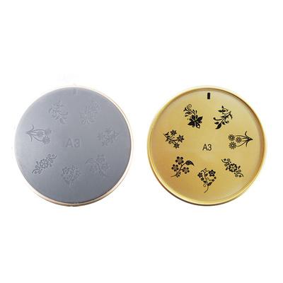 Šablon silikonski za Nail Art A3
