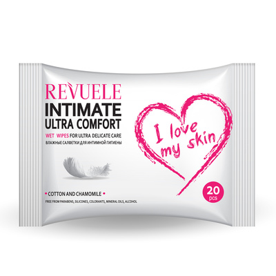 Wet Wipes REVUELE Intimate Ultra Comfort  20/1