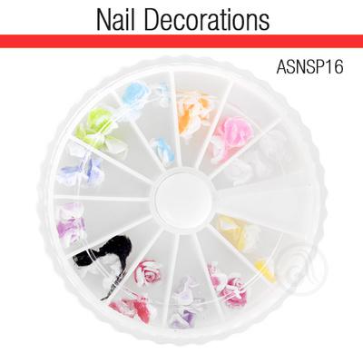 Ukrasi za Nail Art 3D cveće ASNSP16