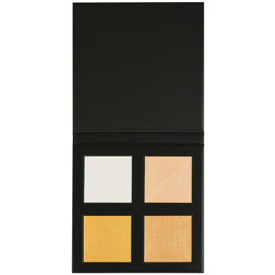 Paleta hajlajtera REVOLUTION PRO 4K Highlighter Palette Gold