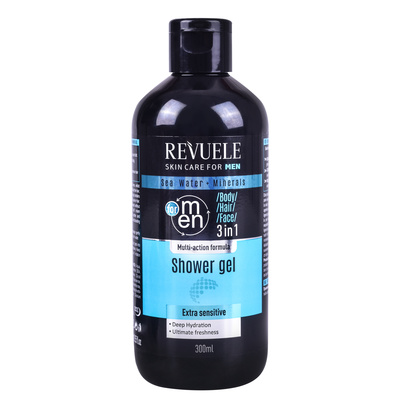 Gel za tuširanje 3u1 REVUELE Men 300ml