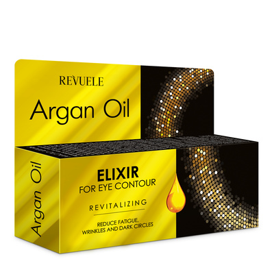 Eye Contour Elixir REVUELE Argan Oil Revitalizing 25ml