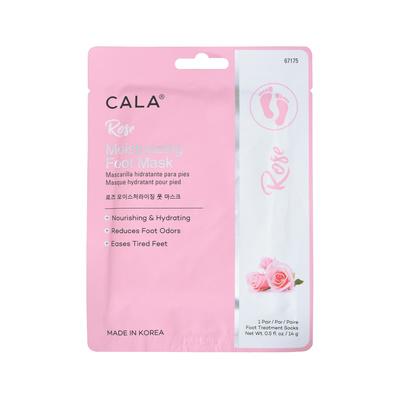 Hidratantna maska za stopala sa ekstraktom ruže CALA 14g