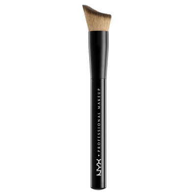 Total Control Drop Foundation Brush NYX Professional Makeup PROB22 Synthetic Hair