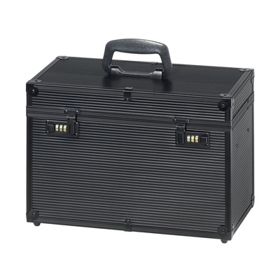 Alu Case For Hair Tools COMAIR Profi Black 27x40x22cm