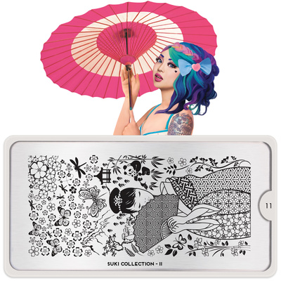 Stamping Nail Art Image Plate MOYOU Suki 11