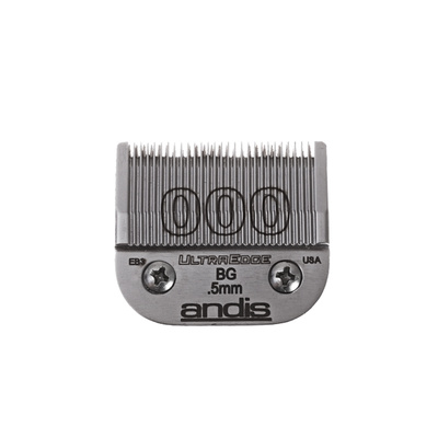Spare Blade For Hair Clippers Andis BG Ceramic Edge Size 000 - 0.5 mm